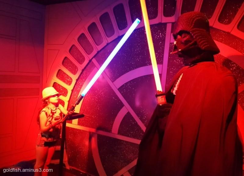 Tegan v Darth Vader
