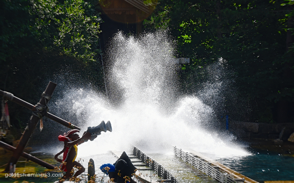 Pirate Falls Log Flume - Legoland