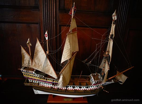 """Model Ship ii """"Revenge"""""""