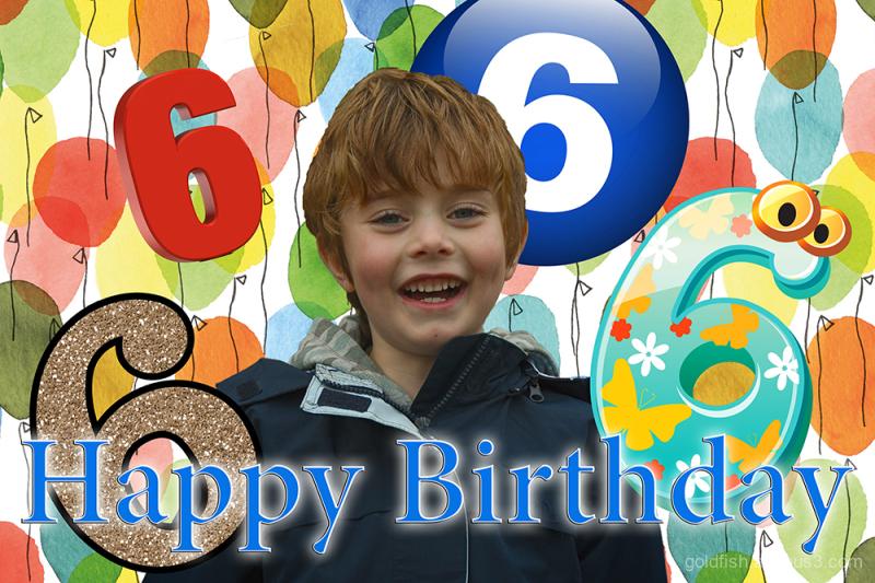 Happy Birthday Gethin