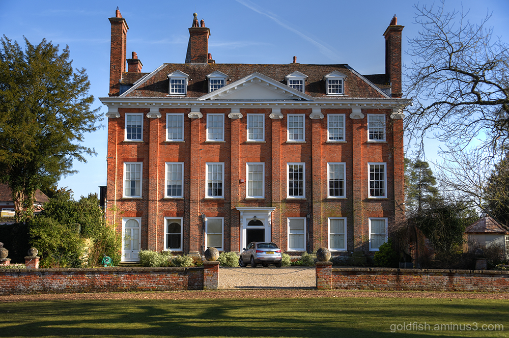 Welford Park Manor House