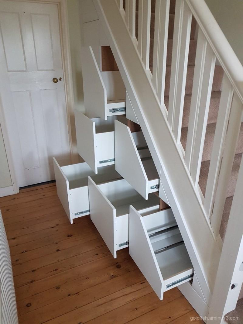 New Understairs Storage