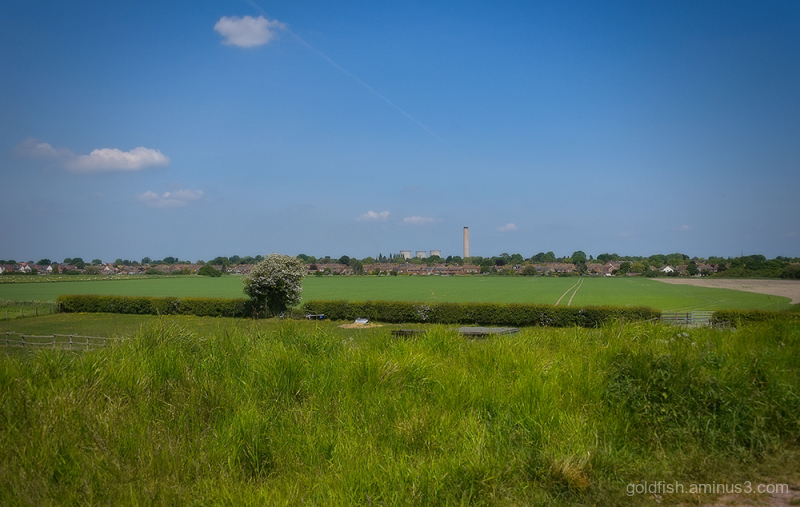 Didcot From Route 544 Cycleway iv
