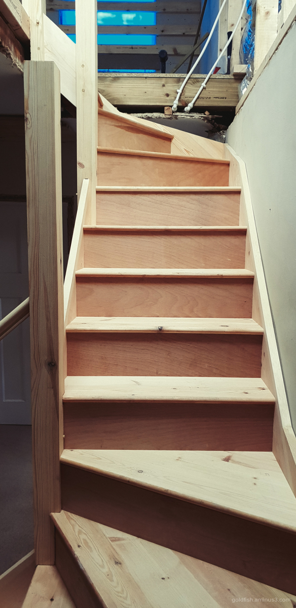 Installing The Stair Case ii