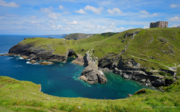 View From Tintagel
