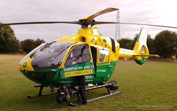 Hampshire and Isle of Wight  Air Ambulance ii