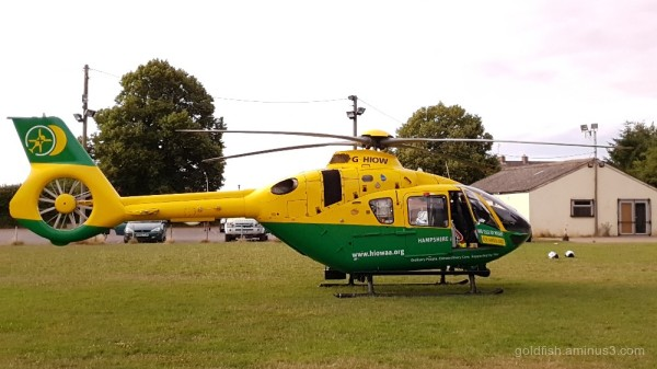 Hampshire and Isle of Wight  Air Ambulance iii