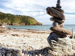 Lantic Beach Pebblestack
