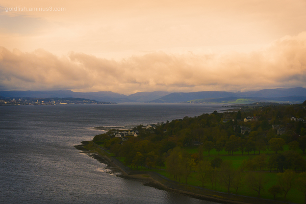 Dumbarton Castle View III