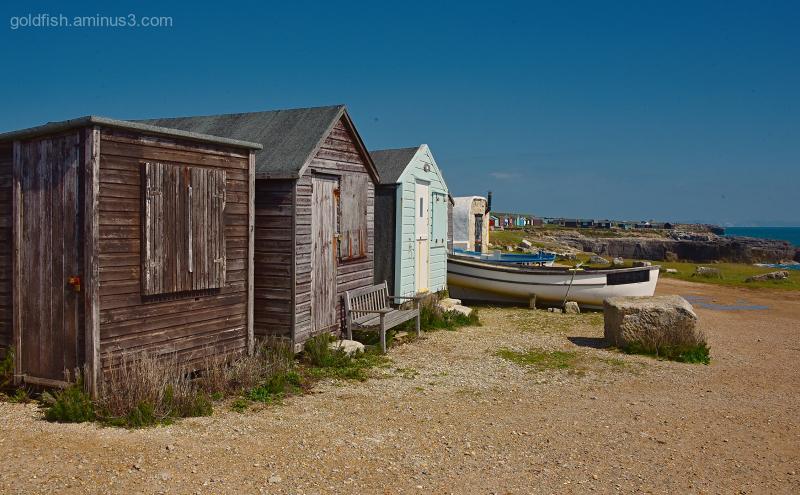 Beach Huts & Boats II