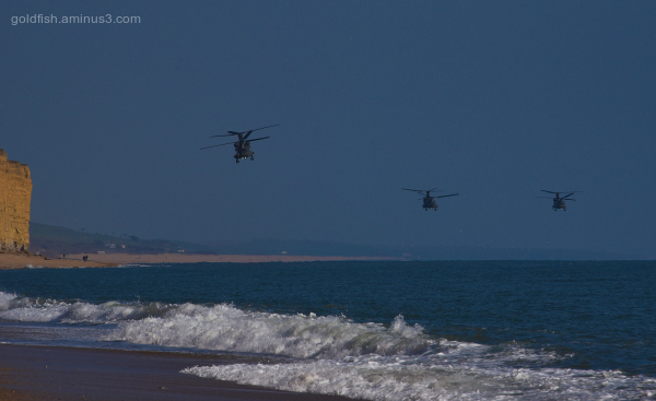 West Bay & The Three Chinooks II