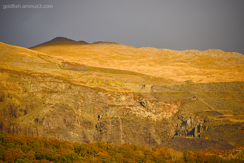 Golden Hour in Llanberis II
