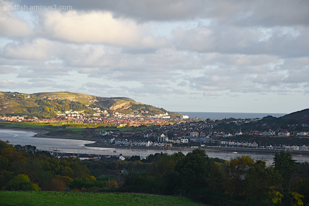 View from Conwy YHA III