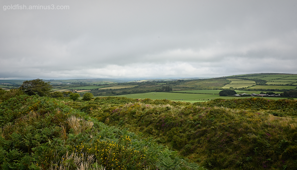 Castle an Dinas - View From