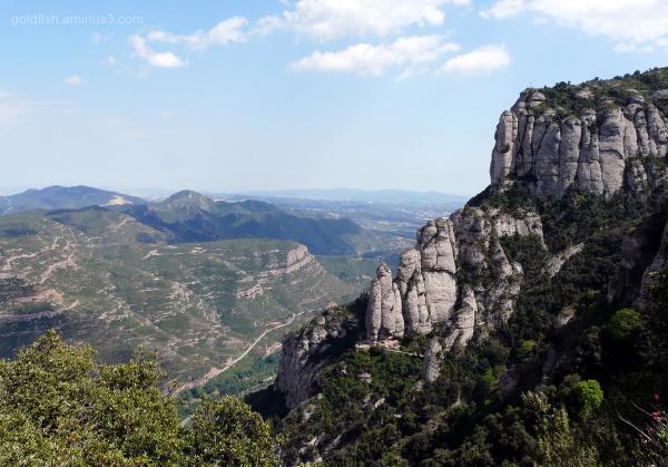 View from Abadia de Montserrat