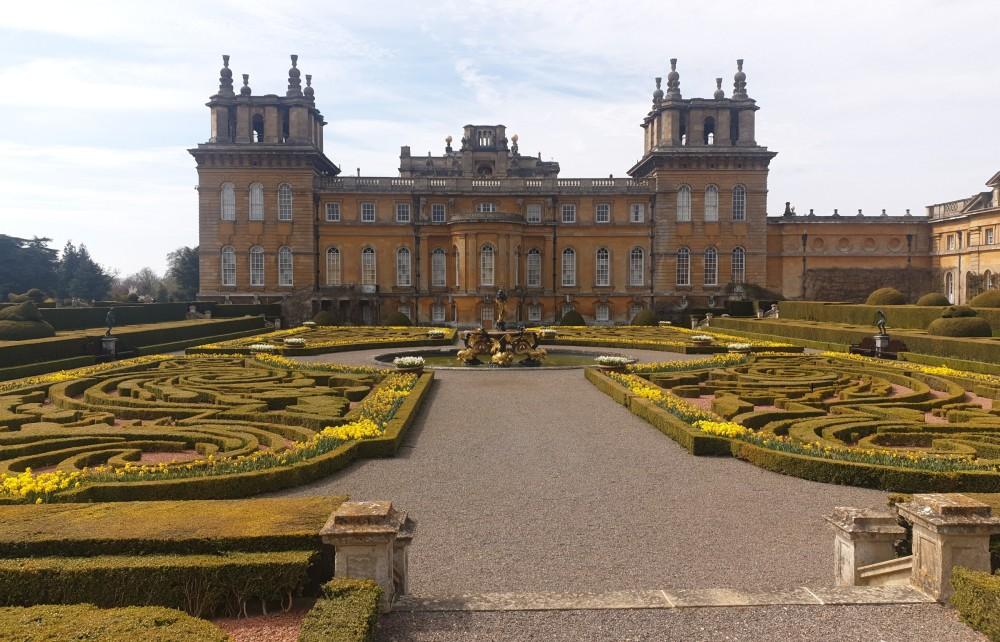 Blenheim Palace - Italian Garden III