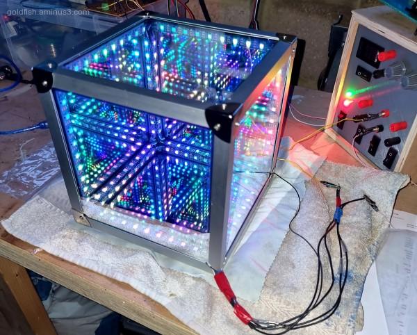 Infinity LED Cube v
