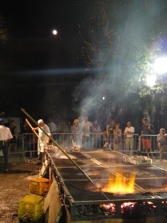 August steak festival, Cortona, Tuscany