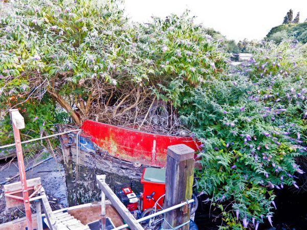 Brentford boatyard