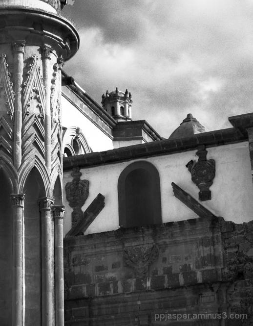 Church view San Miguel Allende