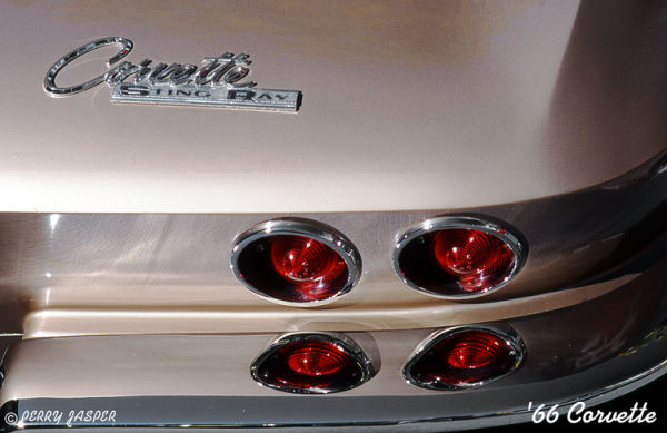 '66 Corvette Sting Ray Detail