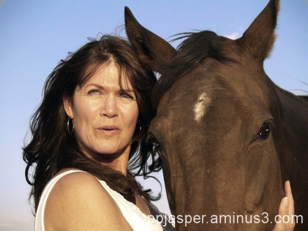 Woman & Horse Faces