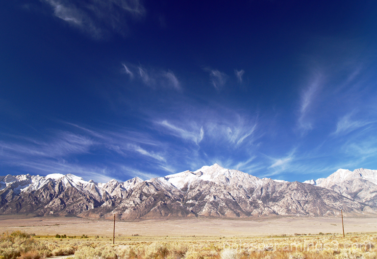 Mount Williamson and Sierras