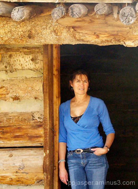 In the Cabin Doorway