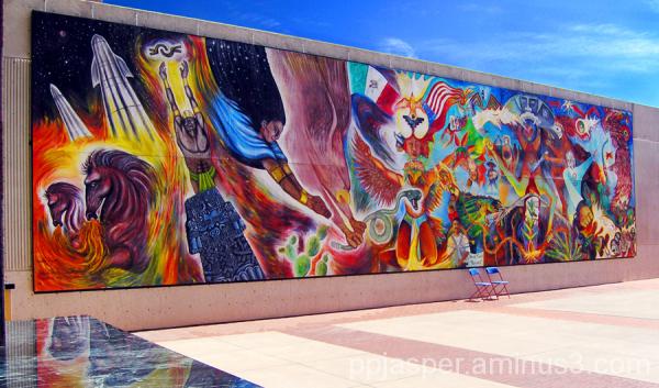 Latino Mural - Tucson
