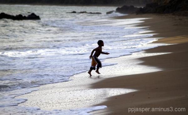 Boy On the Beach - PR
