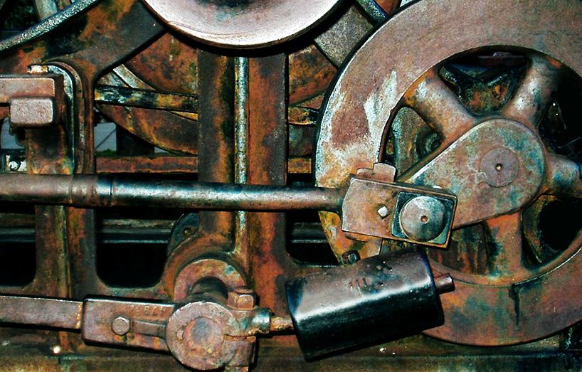 Old Mining Machine Detail