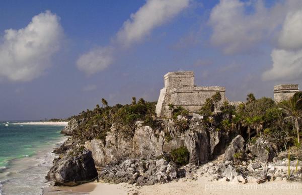 Tulum Mayan Temple