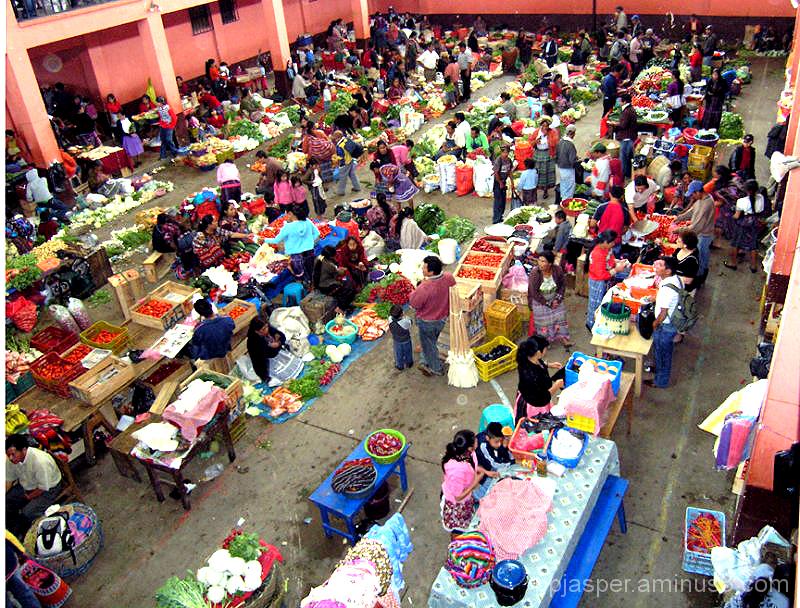 Mercado -  Chichicastenango Guatemala