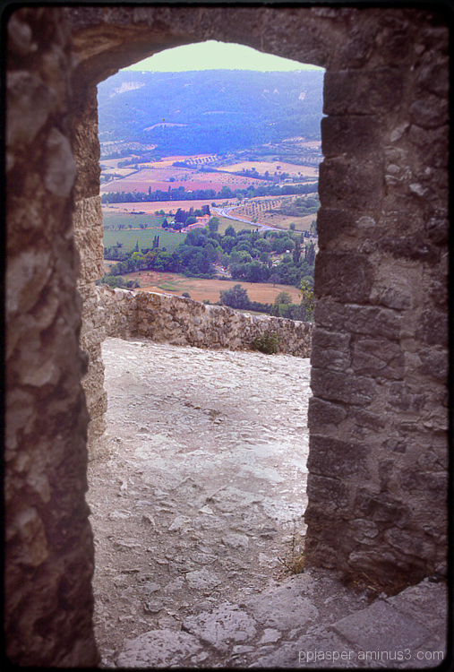 Passageway View Over Provence