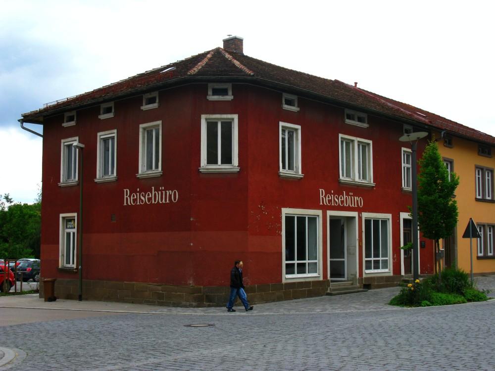 A travel agency in Feuchtwangen