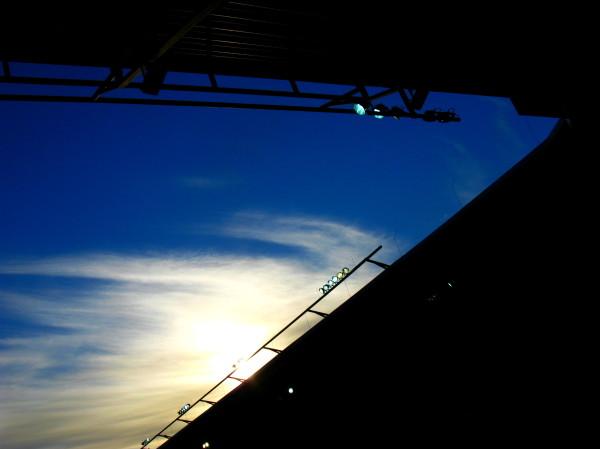 Sky above Paderborn