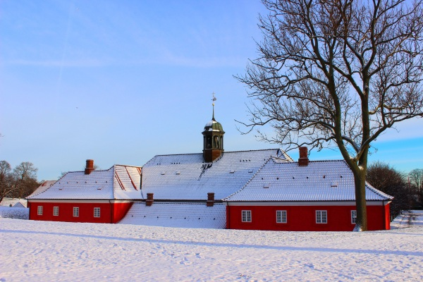 A church on Copenhagen's Kastellet
