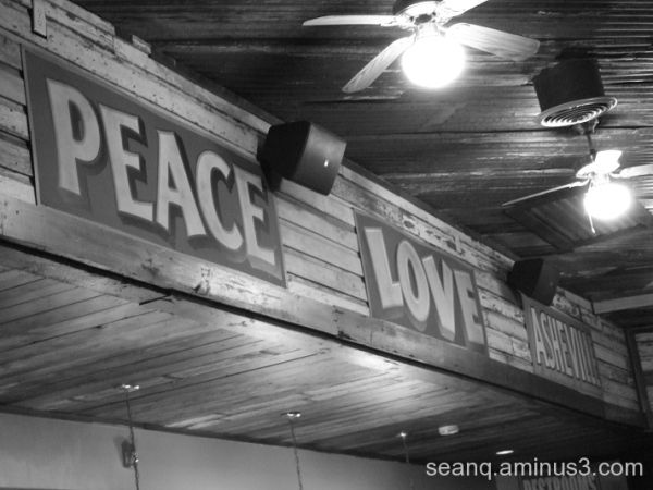 Peace Love Asheville