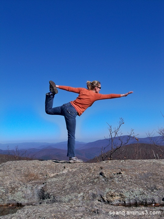 Yoga On Spy Rock