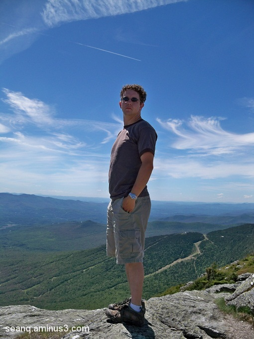 Atop Mt. Mansfield