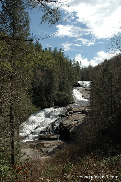A Brighter View of Triple Falls
