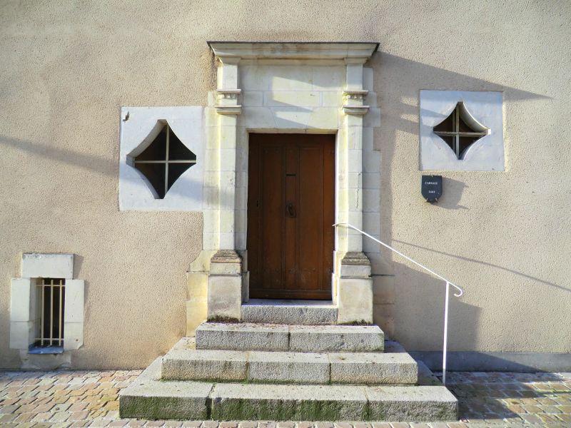Porte de l'ancienne abbaye