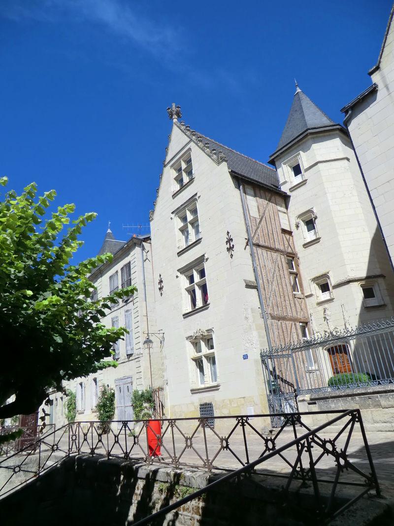 L'hôtel Seigneurial à Chinon