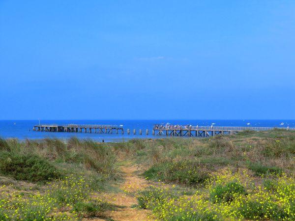 L'esplanade de la mer
