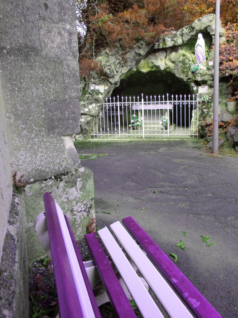 La grotte de Lourdes à Beaupréau