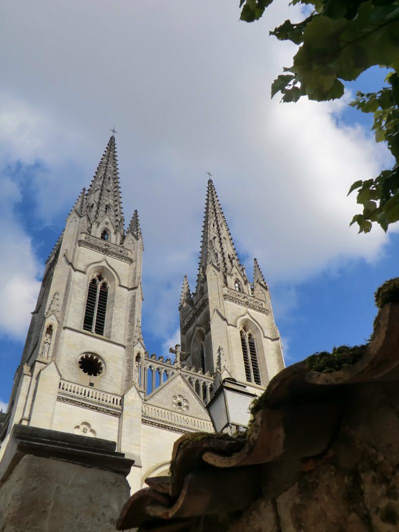 Les clochers de l'église Saint-André