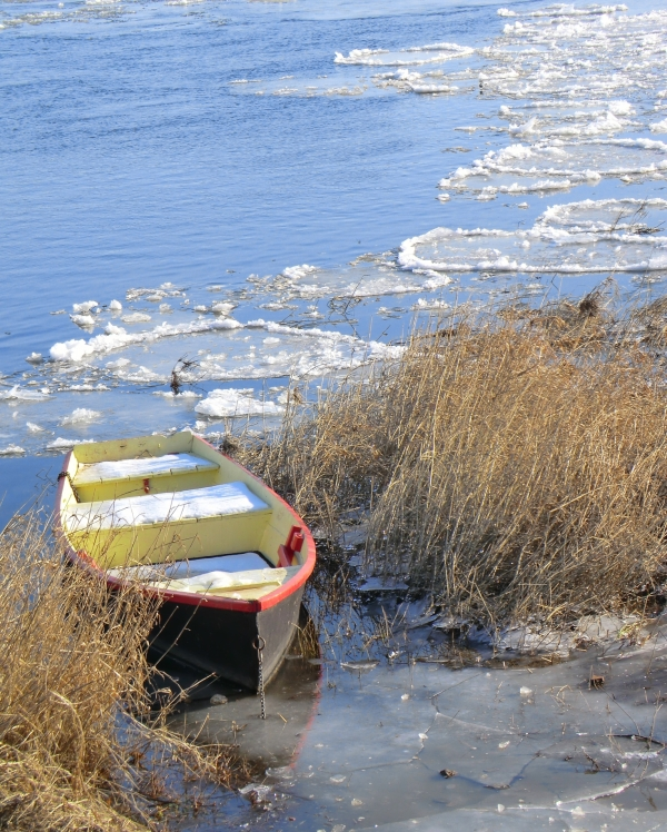 S'embarquer vers le chemin de glace à La Pointe