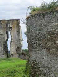 Les deux tours du Château de Gilles de Rais