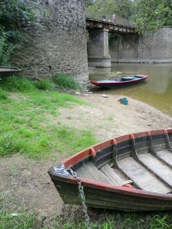 S'embarquer aux fossés verrons du Louet