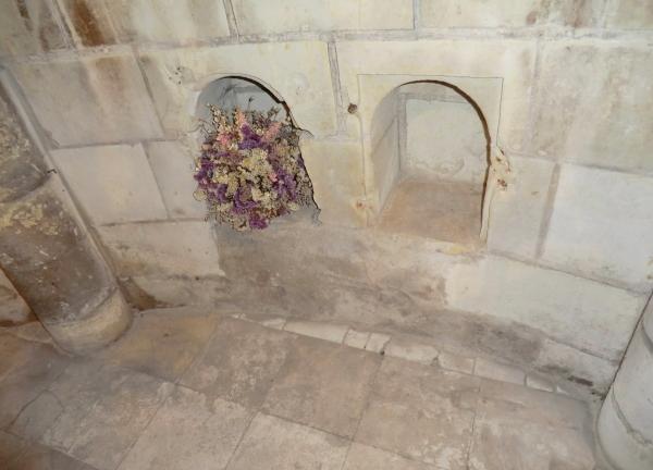 La nichette de bouquet floral